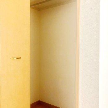 奥行きがありましたよ!よかった〜※写真は同じ階の105号室のものです