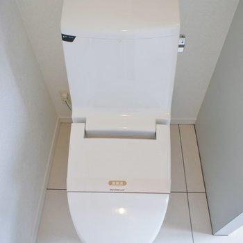 トイレドアはありませんのでご注意を
