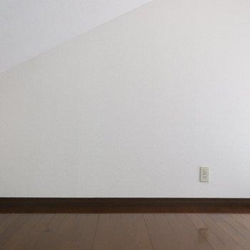 高さもしっかりあるのです※写真は2階の反転間取り別部屋、モデルルームのものです