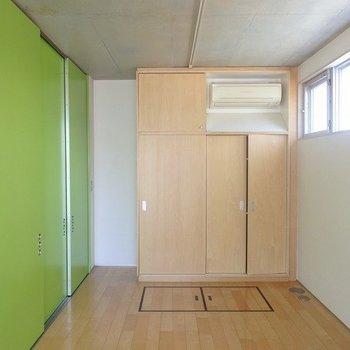 緑が映える!※写真は2階の同じ間取りの別部屋です。