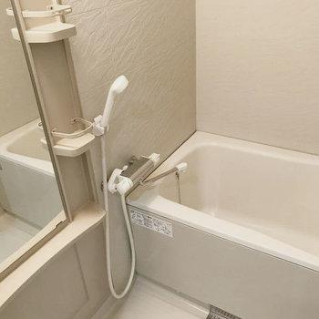 浴室もキレイでゆったりしています。