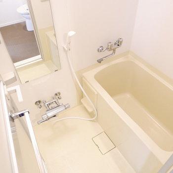 1人暮らしには十分なお風呂。