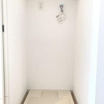 上の棚をうまく活用してね。
