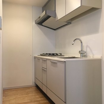 キッチンスペースはこれで十分ですね。
