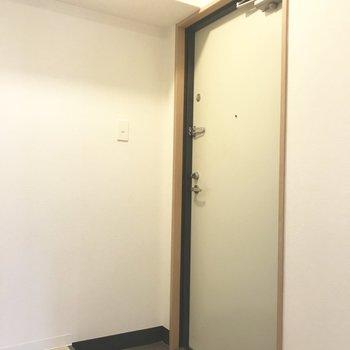 玄関はこんな感じ!