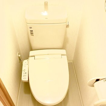 トイレも清潔感があって良いですね!