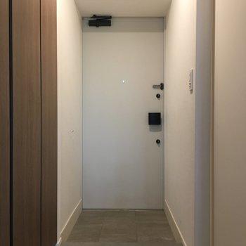 玄関がこちら。