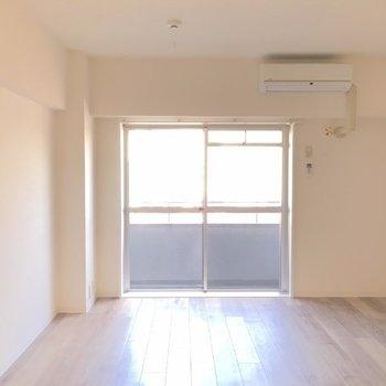 お部屋は使いやすい間取り!※写真は9階の同じ間取りの別部屋