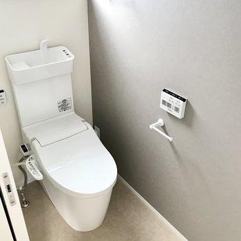 トイレは同じタイプのものが上下階どっちにもあります♬