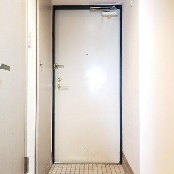 シンプルな玄関♫