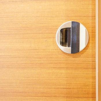 洋室の扉のこの取手すきです