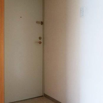 段差もあるしっかりした玄関です◎※クリーニング前・フラッシュ使用