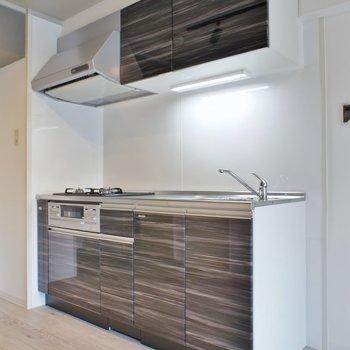新調済みのキッチン