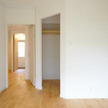 【イメージ】寝室にはウォークインクローゼットが!