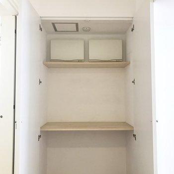 収納、もう一つあります!※写真は8階の同間取り別部屋です