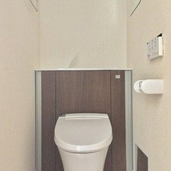 トイレもきちんと個室ですよ〜