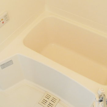 ゆったり休めるお風呂ですね。