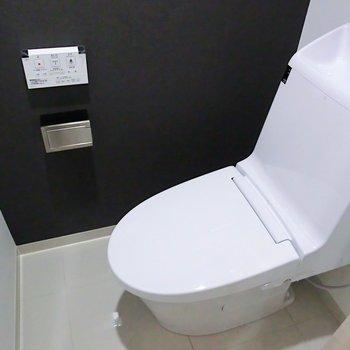 トイレは完全個室です!※2階別部屋反転間取りの写真です。