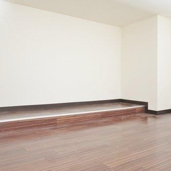 ロフトはこんな感じ※写真は同間取り別部屋のものです。