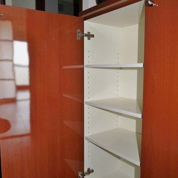 シューズボックスは廊下に※写真は同間取り別部屋のものです。