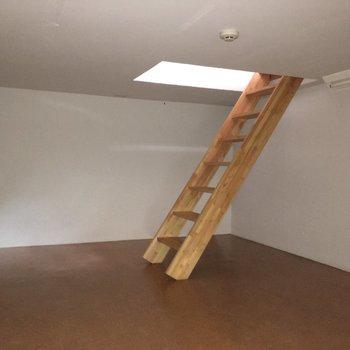 少し違ったアングルからどうぞ。※写真は1階別部屋反転似た間取りです。