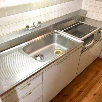 調理スペースしっかり確保できそう。
