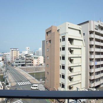 すがすがしい眺望☆(※写真は6階からのものです)