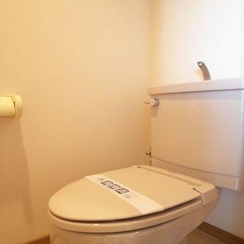 お手洗いはふつう~(※写真は6階の同間取り別部屋のものです)