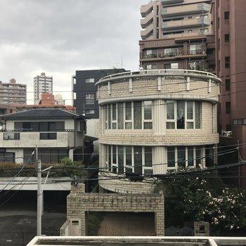 眺望はこちら。※写真は3階からの眺望です