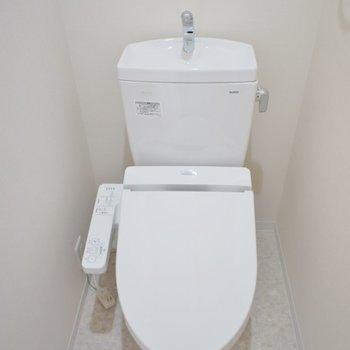 トイレも綺麗☆彡