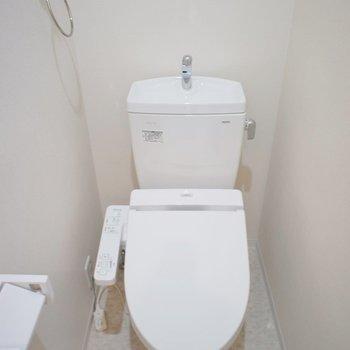トイレも綺麗で◎