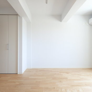 梁もなんだかかわいい!※写真は前回リノベーションしたお部屋です。