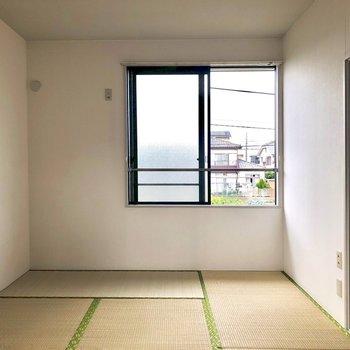 【和室】畳でごろごろしたい〜。※写真は通電前のものです