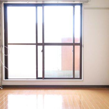 部屋①真四角です!