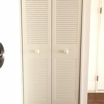 この中には洗濯機が※2階の同じ間取りの別部屋の写真