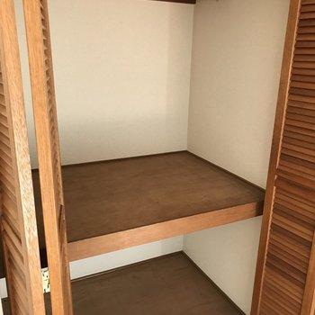 収納大容量ですね※2階の同じ間取りの別部屋の写真