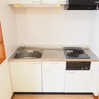 システムキッチンが嬉しいな〜※写真は別室です