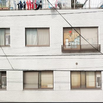 眺望はお隣さん家!