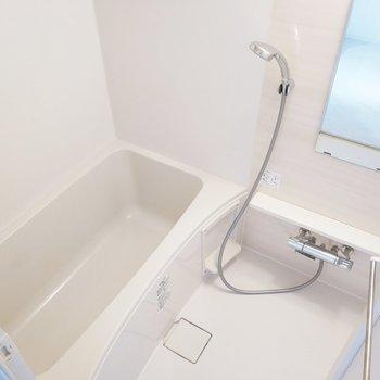 浴室は毎日使う場所だから。新品で嬉しいなぁ。