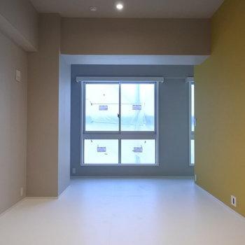 やっぱりコンクリート打ちっ放しはかっこいい。※写真は別室です
