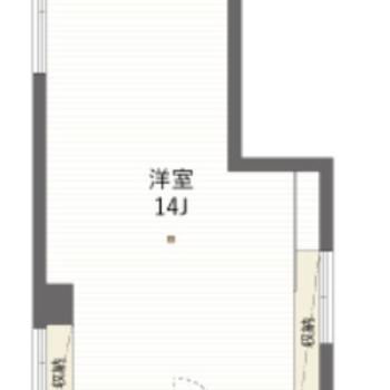 1Rの広いオフィスです。