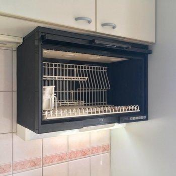 食器乾燥機もついてる!なんてことだ(嬉)※クリーニング前の写真です