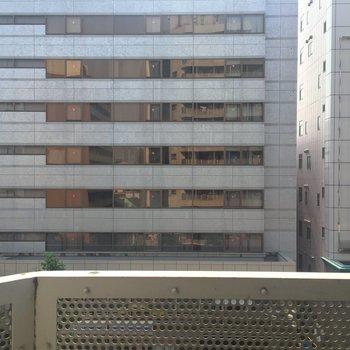 眺望は…お隣の建物