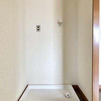 洗濯置き場は室内です!