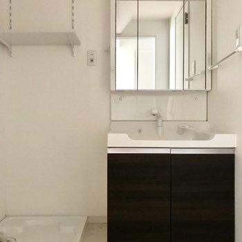 洗面器の部分も大きくて使いやすい・・・♡