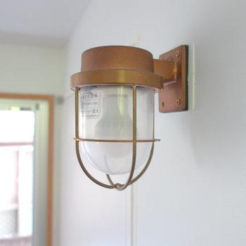 可愛いランプです。