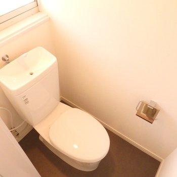 トイレは新品に交換しています