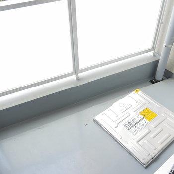 バルコニーはこちら。 ※2階同間取り別部屋の写真です