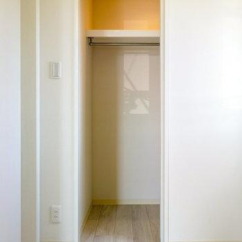 収納はこちらに。 ※写真と文章は4階同間取り別部屋のものです