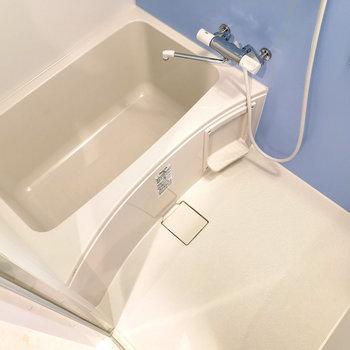 浴室乾燥機能ついていますよ。※写真は4階同間取り別部屋のものです
